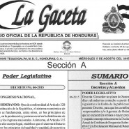 Honduran Congress approves deadline extension for taxpayers